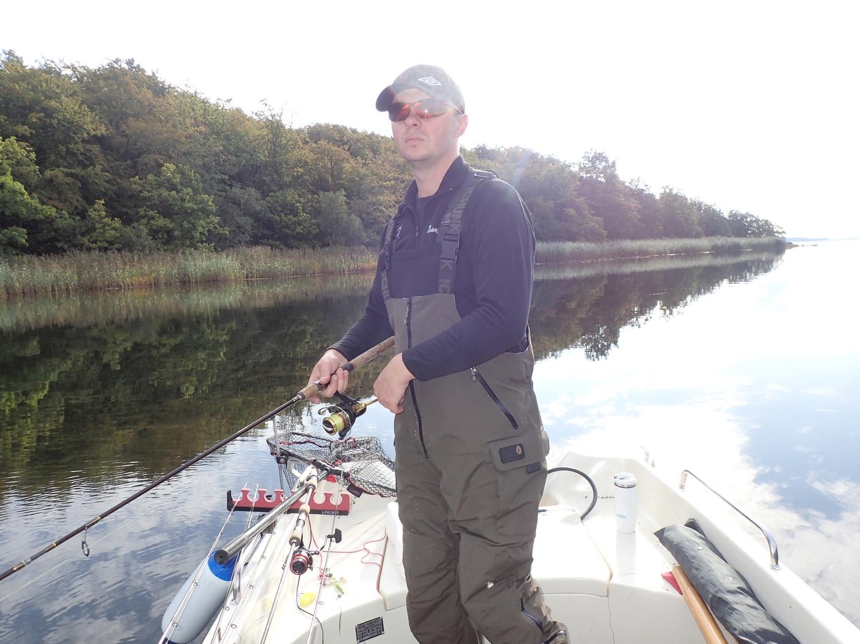 Łowienie z łódki